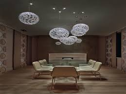 Contemporary Rectangular Chandelier in the Dining Room