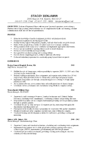 Sample Nurse Resume 3 Example RN