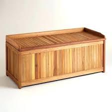 wood garden storage box outdoor bins patio deck all weather large medium size of bench wooden