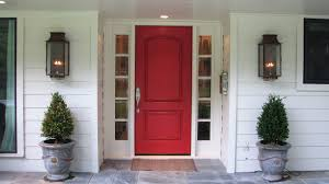 Front Door with Sidelights and Arched Transom Ideas - YouTube