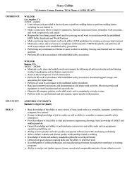 7 8 Welder Fabricator Resume Objective Nhprimarysource Com