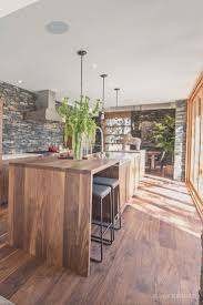 Walnut Kitchen Floor Stunning Contemporary Home With Wide Plank Black Walnut Floor