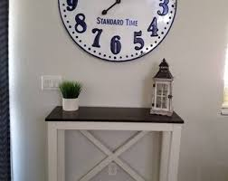 Small entrance table Hallway Small Entry Table Or Desk Etsy Entry Table Etsy