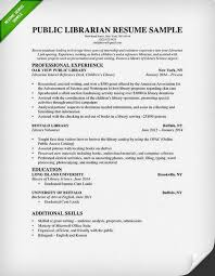 public librarian resume sample librarian resume examples