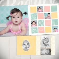 Baby Albums Baby Album Template Watch Me Grow First Year Book Template