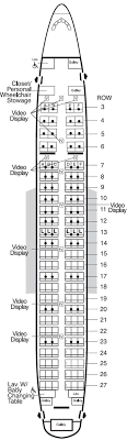 American Airline 747 Seating Chart Www Bedowntowndaytona Com