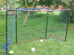 Best Soccer Goal Plan 12 X 6 PVC  How To Build A PVC Soccer Goal Soccer Goals Backyard