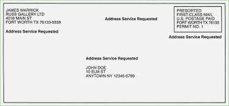 Letter Mail Format