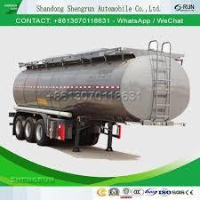 Liquid Asphalt China Aluminum Asphalt Bitumen Transportation Tank Tank Trailer