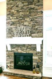 stone fireplace makeover rock stacked fireplaces best ideas on faux ston rock for fireplace faux