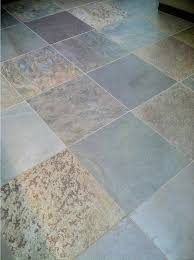 dull slate floor tile before cleaning and sealing photo credit az tile grout care tucson