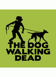 the dog walking dead t shirt horror t shirt com the dog walking dead t shirt