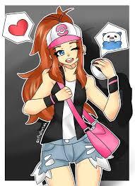 Fanart of Hilda from Pokemon Black and White | Art Amino