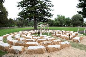 Beautiful Hay Bale Wedding Seating Wedding Hay Bale Wedding Seating