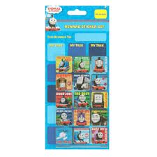 Thomas And Friends Reward Chart Thomas Friends Reward Sticker Chart Set