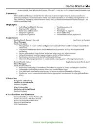 Medical Case Manager Resume Good Medical Case Manager Resume Medical Case Manager Resume 4