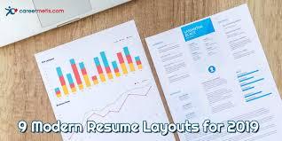 Modern Column Resume 9 Modern Resume Layouts For 2019 Careermetis Com