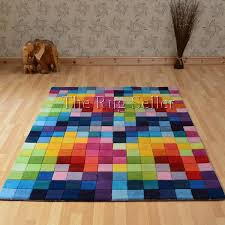 colorful rugs. Funk Rugs - Multi Coloured Pure Wool Colorful