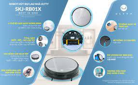Siêu phẩm robot hút bụi lau nhà thế hệ mới 2021: Ultty SKJ RB01X!!! - #1  Ultty - Quạt Lọc Không Khí Thông Minh Chuẩn Châu Âu