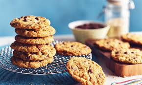 Nηστίσιμα cookies με κομματάκια σοκολάτας