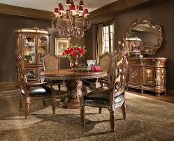 villa valencia round dining table and chairs