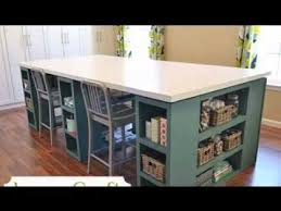 Easy DIY craft desk projects ideas