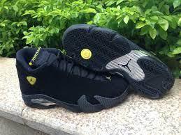 2019 New Air Jordan 14 Black Ferrari Uk Shoes Online Sale