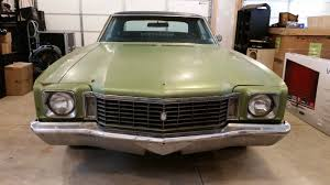 1972 Chevy Monte Carlo, Fresh PA Inspection, Numbers Matching ...