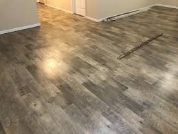 what is laminate flooring made of weathered pine