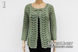 Crochet Cardigan Pattern Interesting Lace Cardigan Crochet Pattern Interunet