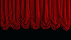 black stage curtains curtain fabric small with velvet theater drawings search