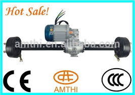 electric vehicle 48v 800w brushless dc motor with gear box and axle high torque electric vehicle brushless dc motor amthi
