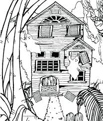 Coloring Pages Tree House Coloring Pages Fairy Printable Sheets