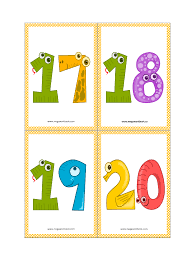 Funny educational game for toddlers. Number Flashcards Number Flashcards Printable Free 1 To 10 1 To 20 Megaworkbook