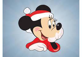 Christmas Minnie Mouse 74874 Vector Art at Vecteezy