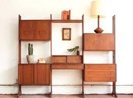 danish modern wall unit free standing walnut room divider modern danish wall unit diy danish wall