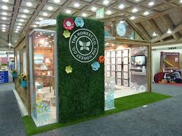 Trade Show Booth Design Ideas best trade show booths of natural products expo east 2014 the honest company tumericalive