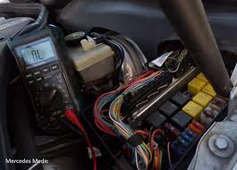 how to use a multi meter to check fuses mercedes benz how to check fuse box in a 1960 chevy How To Check Fuse Box #35