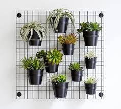 indoor outdoor garden wall grid