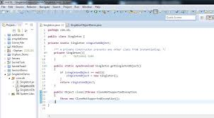 Singleton Design Pattern In Java Simple Java Singleton Design Pattern