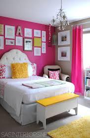 Pink And White Bedroom Furniture Girls Room Benjamin Moore Royal Fuchsia And Lenox Tan Home