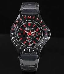 9156 tatical look red mens watch analog quartz sport watch usa image is loading 9156 tatical look red mens watch analog quartz