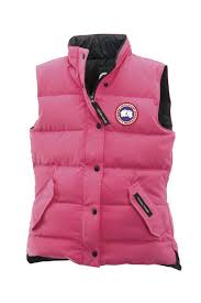 Canada Goose Freestyle Vest Summit Pink For Women
