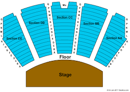 The Orleans Showroom Seating Chart Clay Walker On September 9 At 8 P M