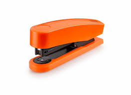 office orange. B 2 Stapler In Orange Office A