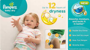 Pampers Baby Dry Nappies Size 4 Total 132 Nappies