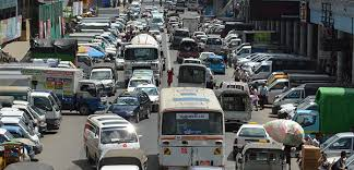 yangon at a standstill traffic congestion is choking burma s  yangontrafficmichele traffic