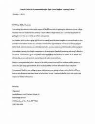 Letter Of Recommendation Template Teacher Samples Of College Recommendation Letters Letter For A