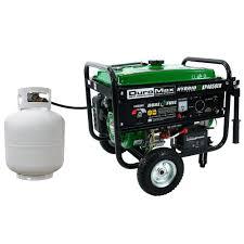 duromax watt dual fuel propane gas powered electric start 4 850 watt dual fuel propane gas powered electric start portable generator