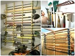 diy tool organizer ideas garden tool rack yard garden tool storage for garage garden tool rack